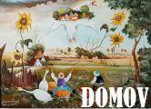DOMOV vernisáž výstavy insitných maliarov Juraj Lavroš a Vladimír Galas