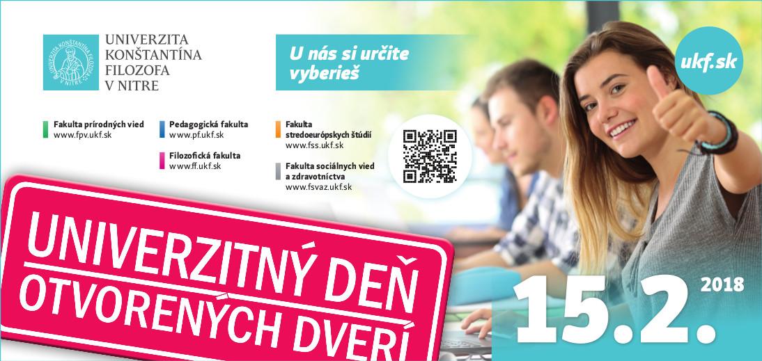 6df54c8db Deň otvorených dverí 2018 Univerzita Konšta - Kam v meste | moja Nitra